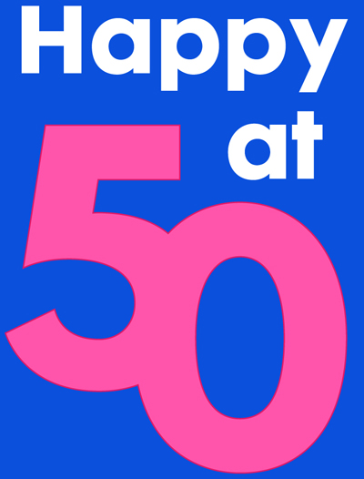 Happy at 50